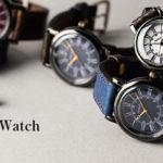 ARKRAFT ヴィンテージスタイル腕時計 Andy