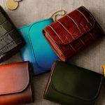 使い勝手抜群のミニ財布 COTOCUL ぼかし染 小さな財布