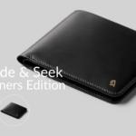 ベルロイのユニークな隠しポケット付き薄型二つ折り財布