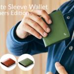 BELLROYの定番Note Sleeve Walletに上位モデルが誕生!