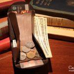 ハンモック構造でコインが取りやすいカルトラーレの財布